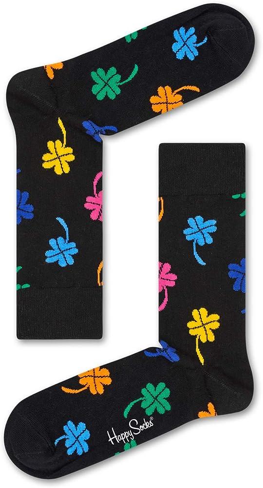 Happy Socks Big Luck Sock, Calcetines para Hombre, Negro (Schwarz 9000), Talla única: Amazon.es: Ropa y accesorios