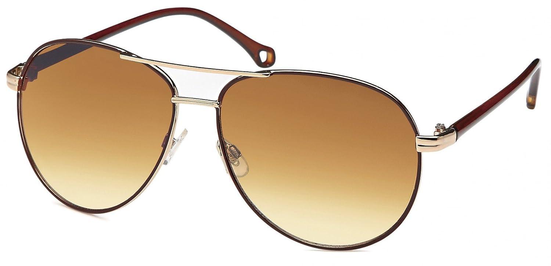 styleBREAKER Piloten Sonnenbrille mit lackiertem Rahmen ...