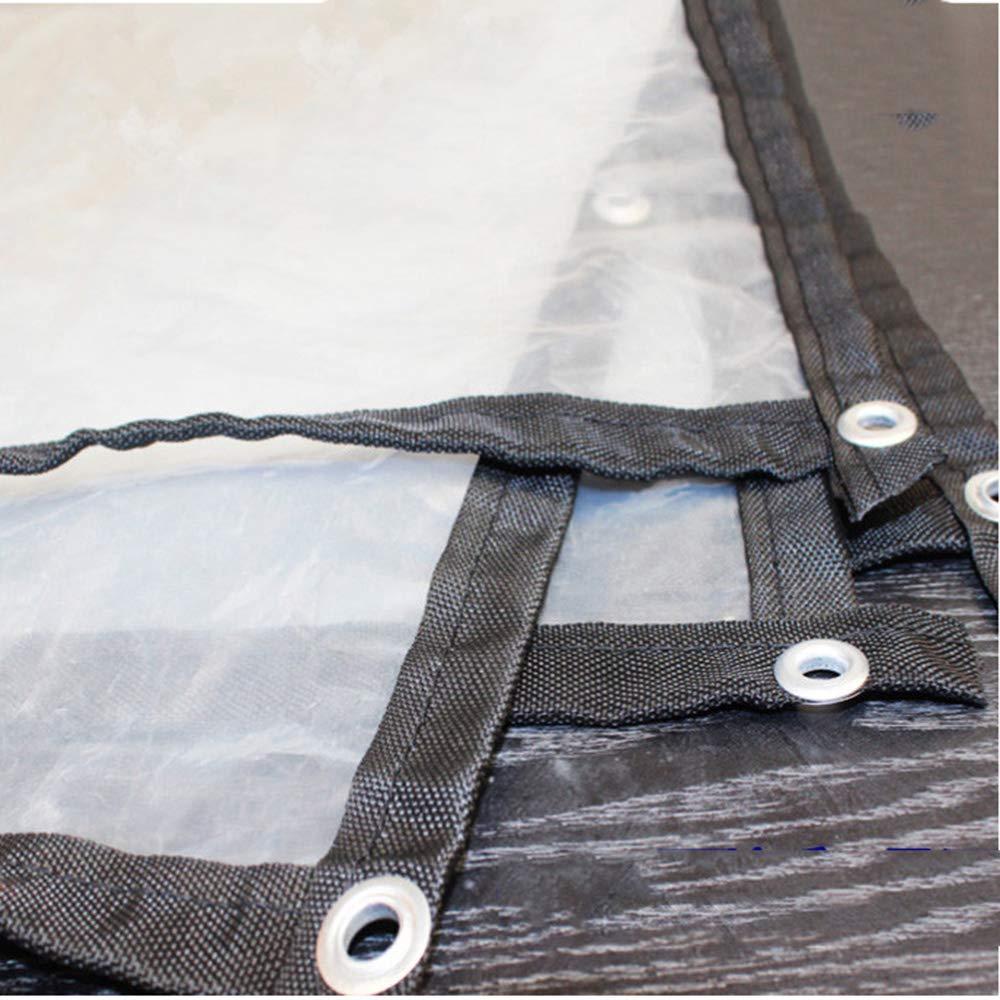 2mx4m Tarpaulin HLF- Transparent plastic rainproof cloth, outdoor garden tool dust cover, balcony green plant waterproof insulation cloth
