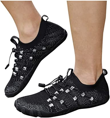 SUGEER 2020NEW Beach Swimming Shoes Barefoot Quick Dry Aqua Shoes Men Women Couple Slip-on Yoga Socks Water Sports Shoes