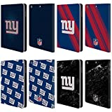 Official NFL 2017/18 New York Giants Leather Book Wallet Case Cover For Apple iPad mini 1/2/3