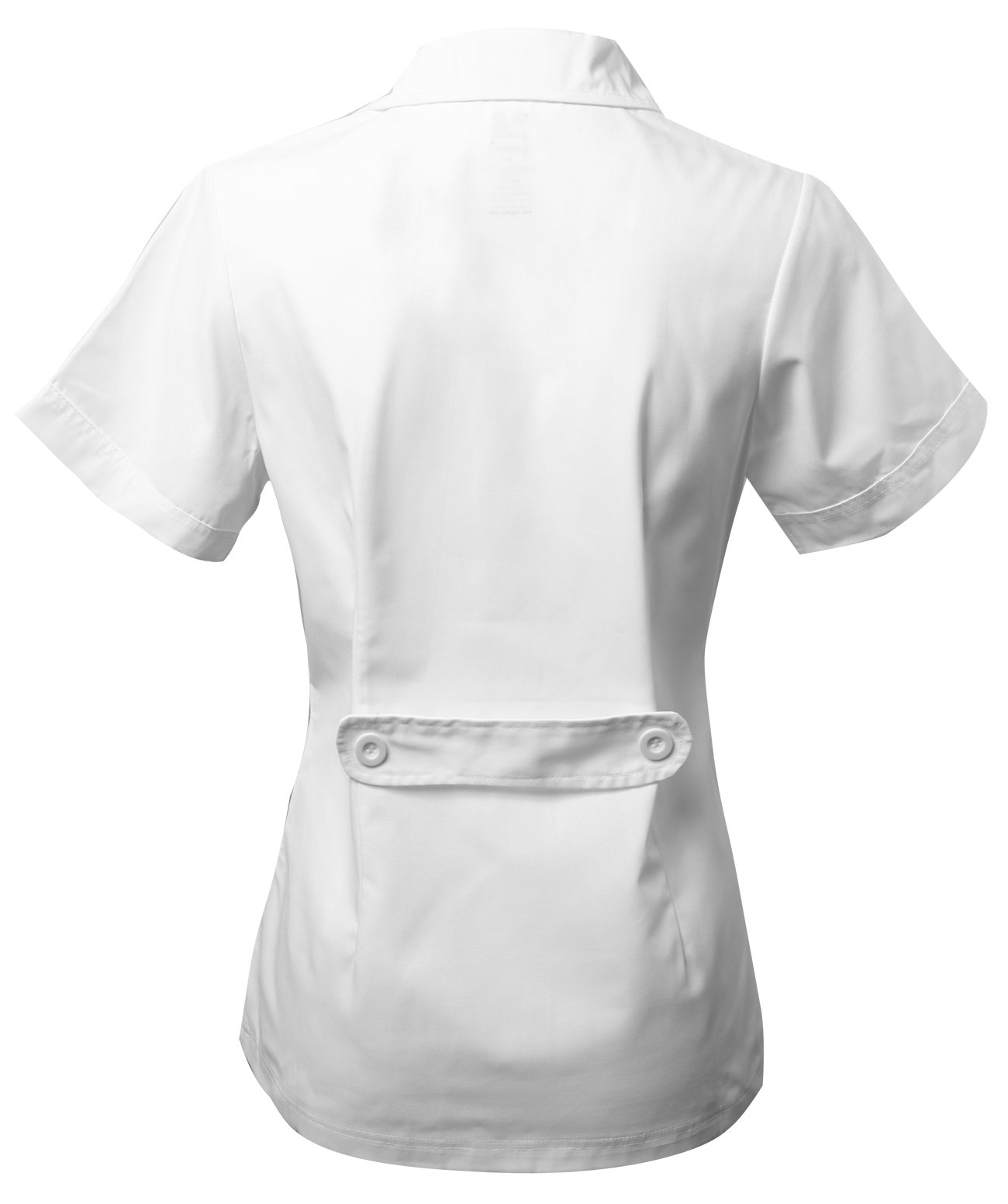 Dagacci Scrubs Medical Uniform Women's Chest Comfortable Short Sleeve Lab Coat (Small) by Dagacci Medical Uniform (Image #3)
