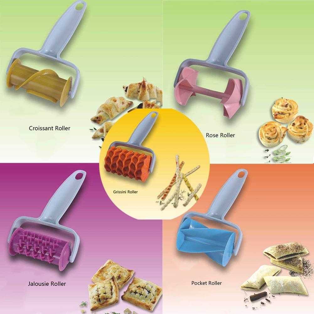 Teig Rollenschneider Croissant Brot Hersteller Form Plätzchen Abschneider