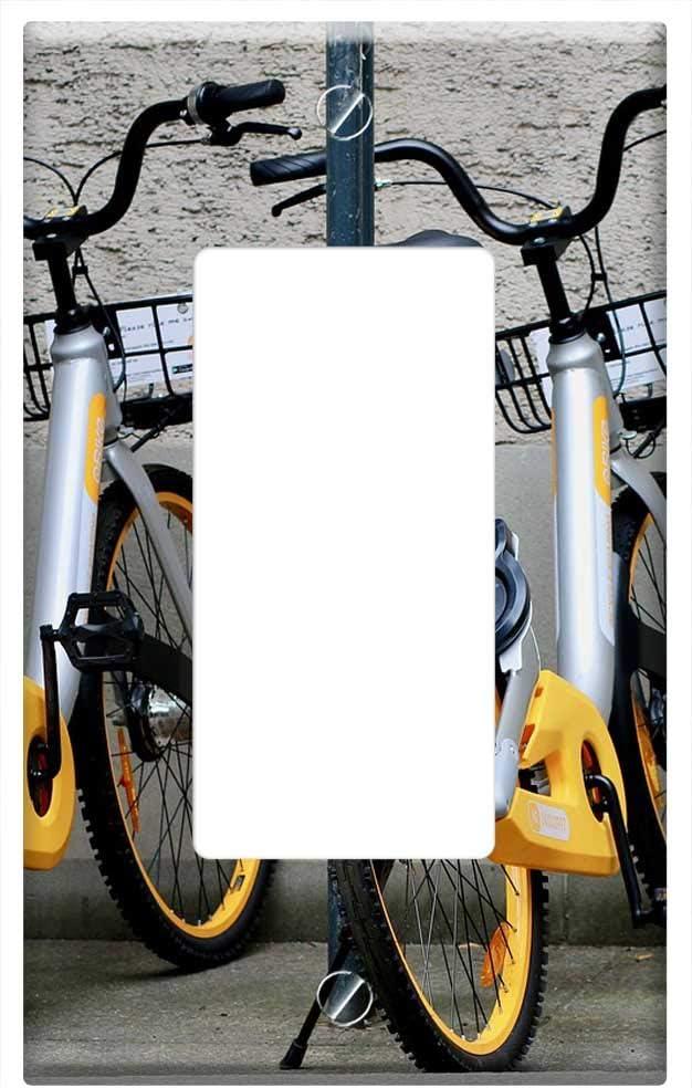 Cubierta para placa de pared para bicicleta de ciudad, control por ...