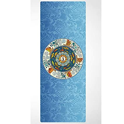 Amazon.com : WMM- Estera de yoga Rubber Yoga Mat - Eco ...