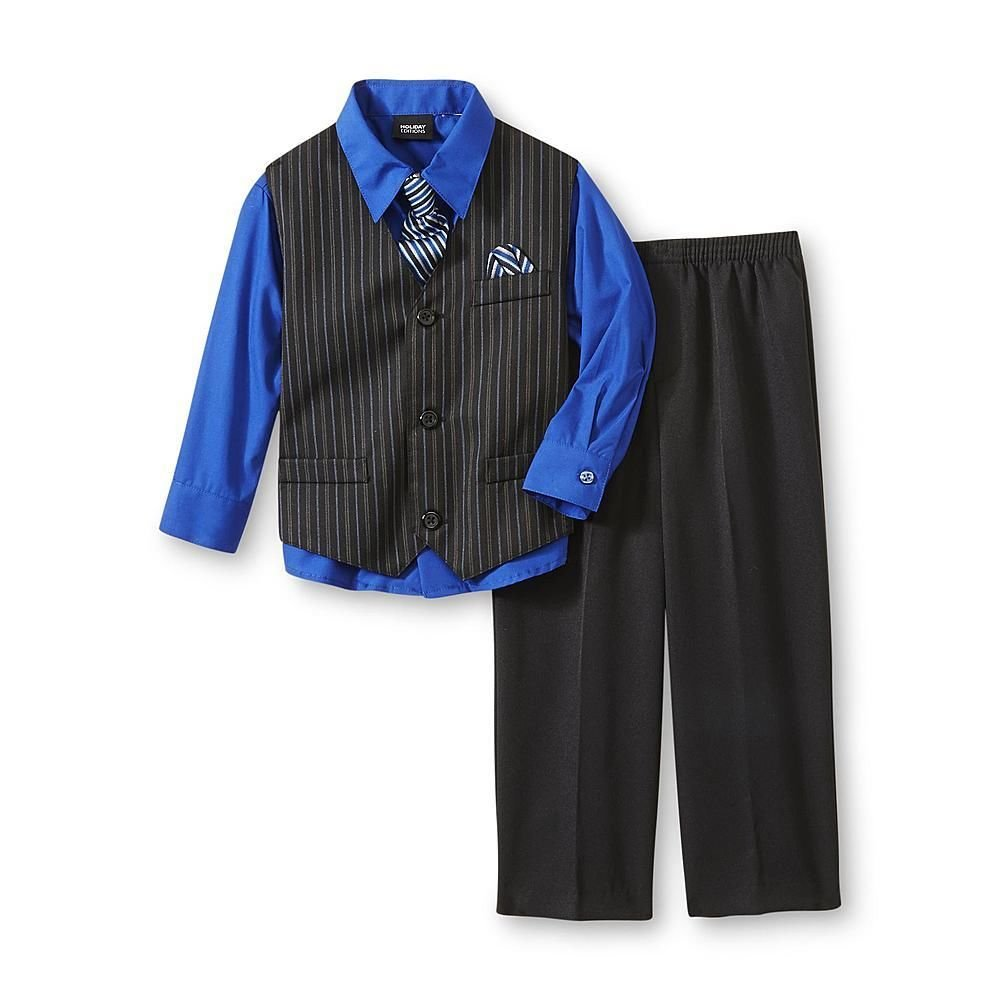 Holiday Editions Boys Size 3t Pinstripe Suit