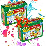 Crayola Washable Finger Paint Easy Squeeze Bottles Family Fun For All Ages Set Of 2 (12 3 OZ Bottles)