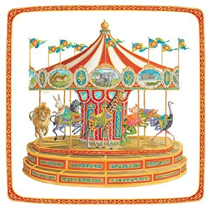 Paper Plates Baby Shower or Kids Birthday Party Dessert Plates Carousel Horse Pony 7.25u0026quot; ...  sc 1 st  Amazon.com & Amazon.com: Paper Plates Baby Shower or Kids Birthday Party Dessert ...