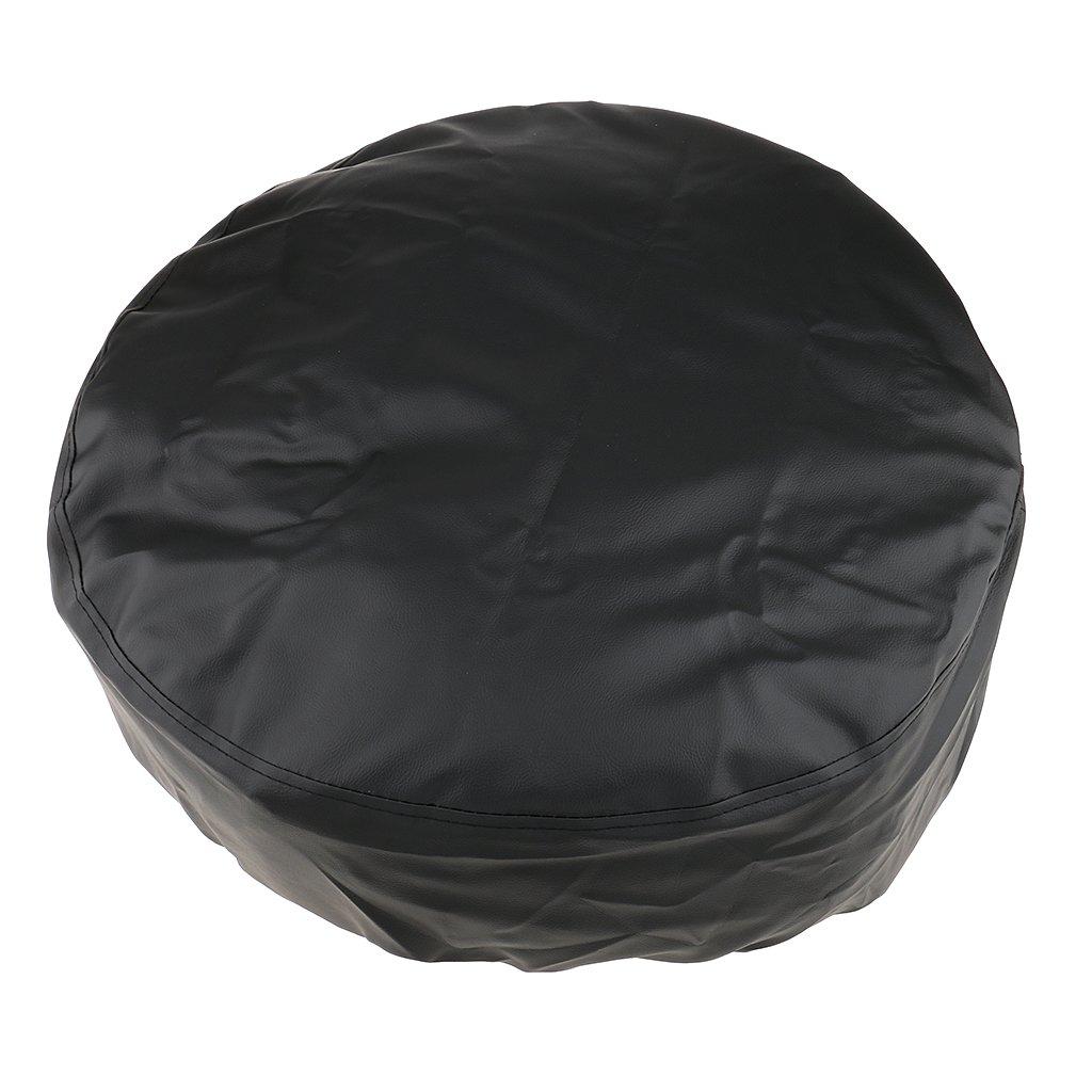 Negro Negro 13 Universal Funda de Rueda de Coche Cubierta de Llanta Piezas para Veh/ículos