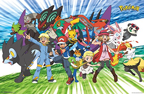 Trends International Pokemon Traveling Party Wall Poster 22.375