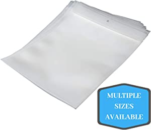 Vacuum Chamber Zipper Pouches - (8 x 12) 1000/CS - 3 Mil - Bottom Fill with Hang-hole