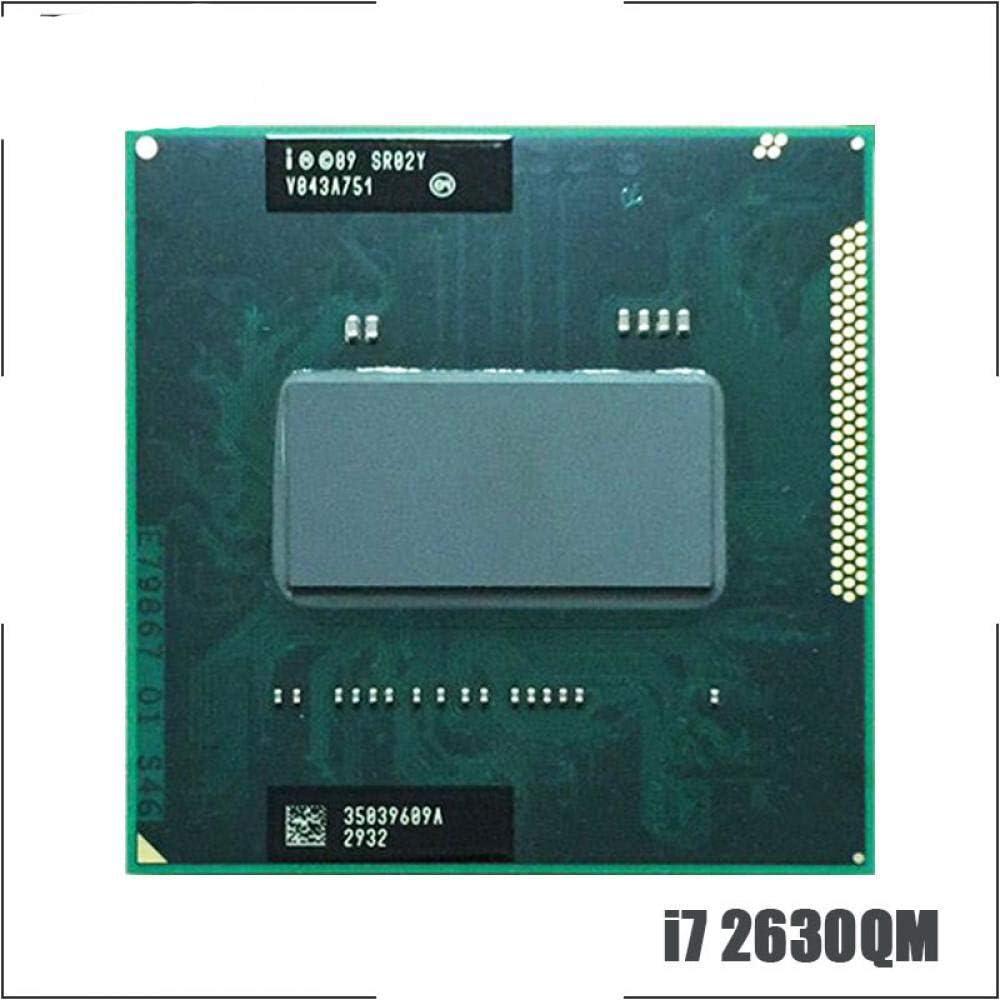 Intel Core I7-2630QM I7 2630QM SR02Y 2.0 GHz Quad-Core Eight-Thread CPU Processor 6M 45W Socket G2 RPGA988B