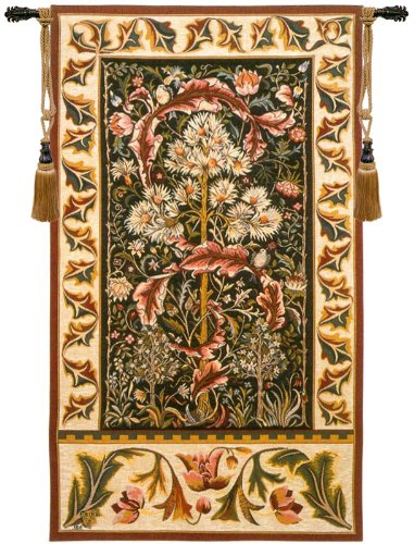 Acanthus French Tapestry Wall Art by Charlotte Home Furnishings
