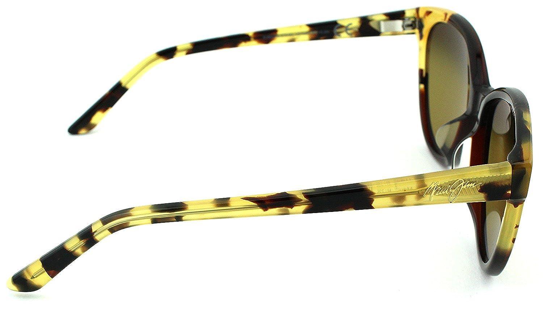 87ef5642de47 Amazon.com: Maui Jim Sunshine Unisex Polarized Sunglasses (Marsala w/Tokyo  Tortoise Frame, HCL Bronze Lens HS725-62): Clothing