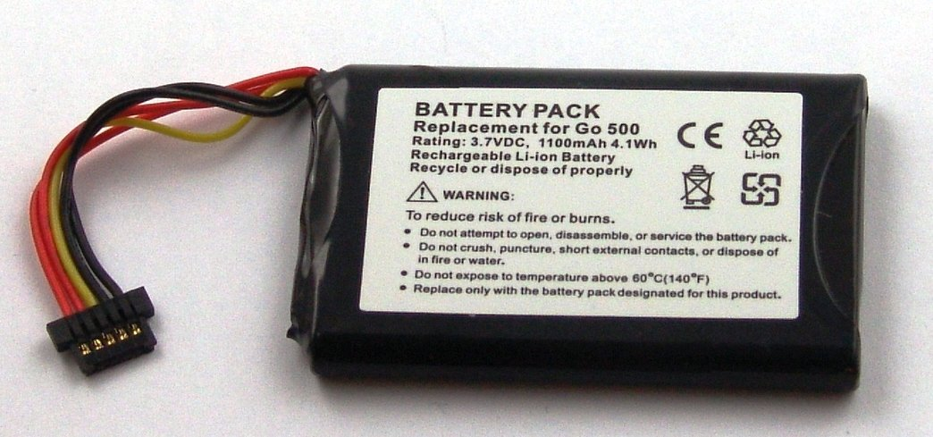 8CP5.011.11 Go 550 Live Replacement battery for TomTom Go 550