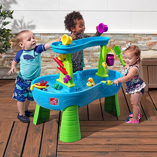 611MrY%2BpKUL - Step2 874600 Rain Showers Splash Pond Water Table Playset, Small Pack, Multi-Colored