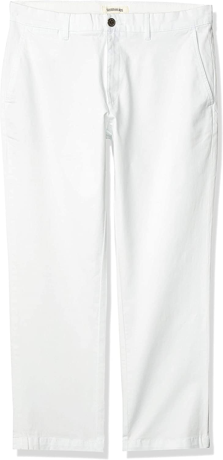 Amazon Brand - Goodthreads Men's Straight-Fit Washed Comfort Stretch Chino Pant