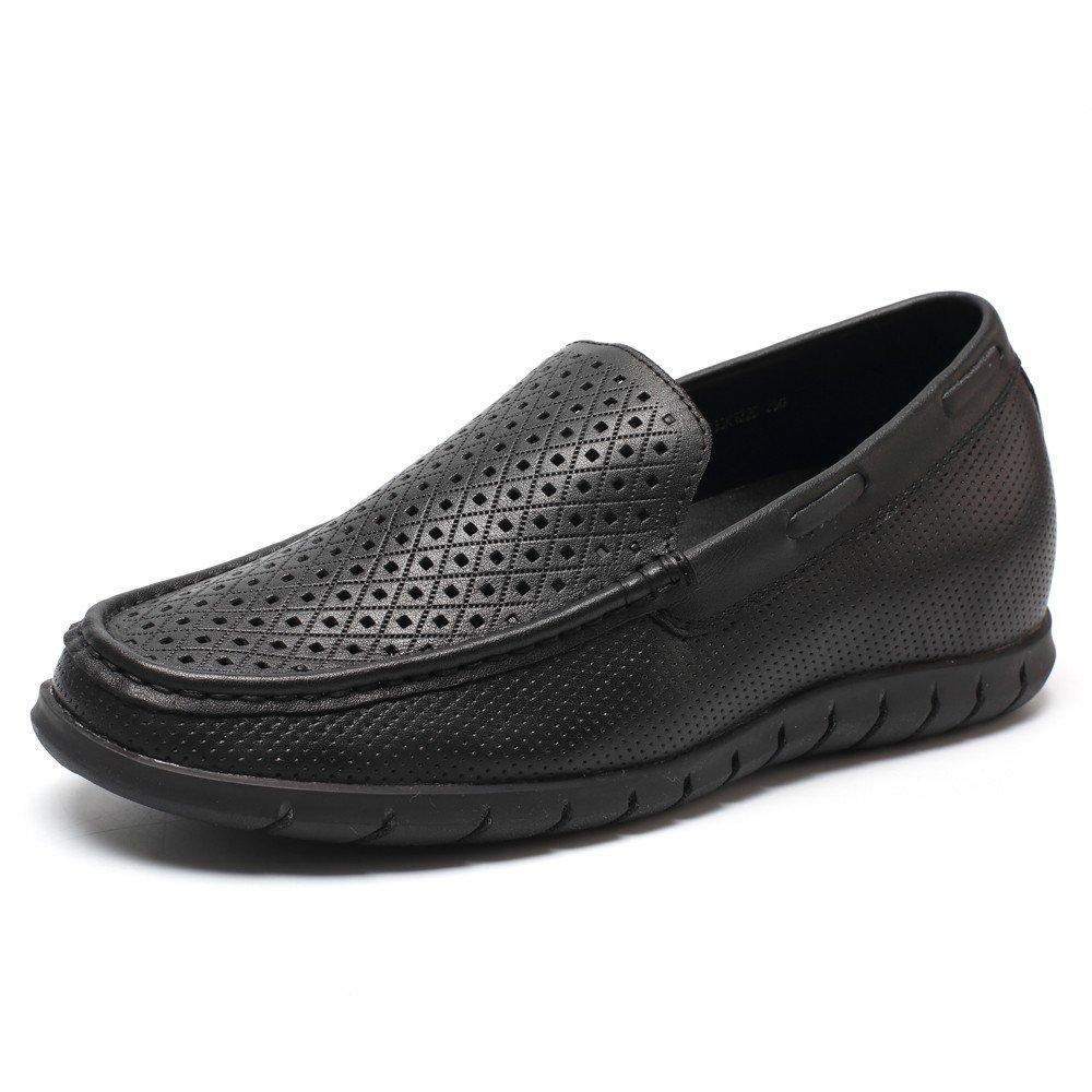 CHAMARIPA Aufzug Schuhe Herren Sportschuhe Turnschuhe Sneakers - 55 cm H?her - DL227H12 iexcl;shy;  38|Schwarz01
