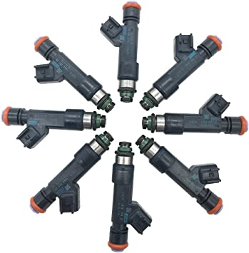 New OEM Fuel Injector AL3E-F7A set of 8 for Ford 2010-2015