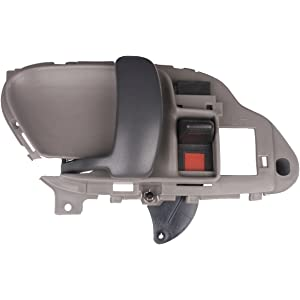 1995 1996 1997 1998 1999 Chevrolet Pickup GRAY LH Drivers Side Inside Door Handle for Chevy