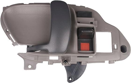 GMC SUBURBAN Left Driver Inside Interior Door Handle RED 95 1996 1997 1998 1999