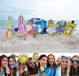 Beach Summer Photo Booth Props