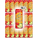 La Croix Cerise Limon, Cherry Lime Flavored Naturally Essenced Sparkling Water, 12oz Tall Can (Pack of 18, Total of 216 Oz)