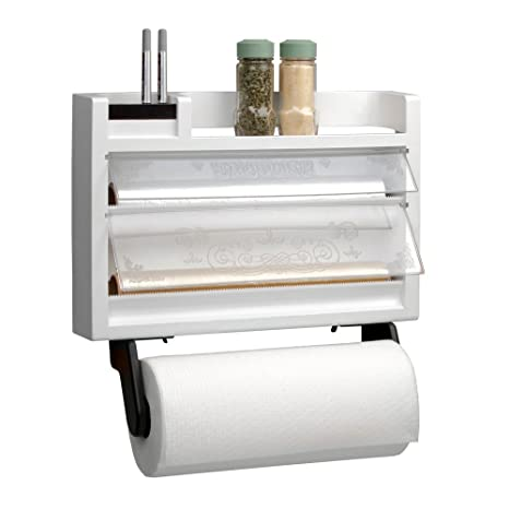 Delicieux Chef Buddy The Ultimate Kitchen 3 In 1 Dispenser Paper Towel Holder