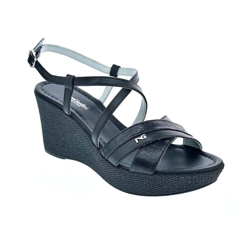 schwarz Giardini P908112d Schwarz Schuhe Schuhe Schuhe Sandalen Wedges Frau  bf8beb