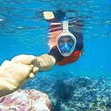 Snorkel Mask Sportneer 180° Full Face Diving Mask,...