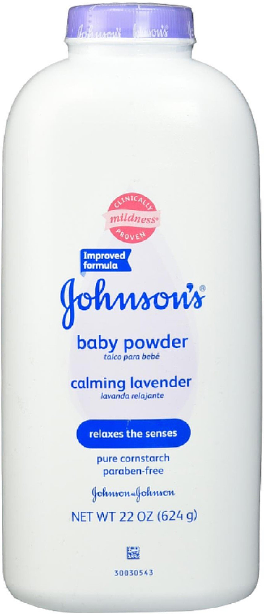 JOHNSON'S Baby Powder Calming Lavender 22 oz (Pack of 12) by Johnson's