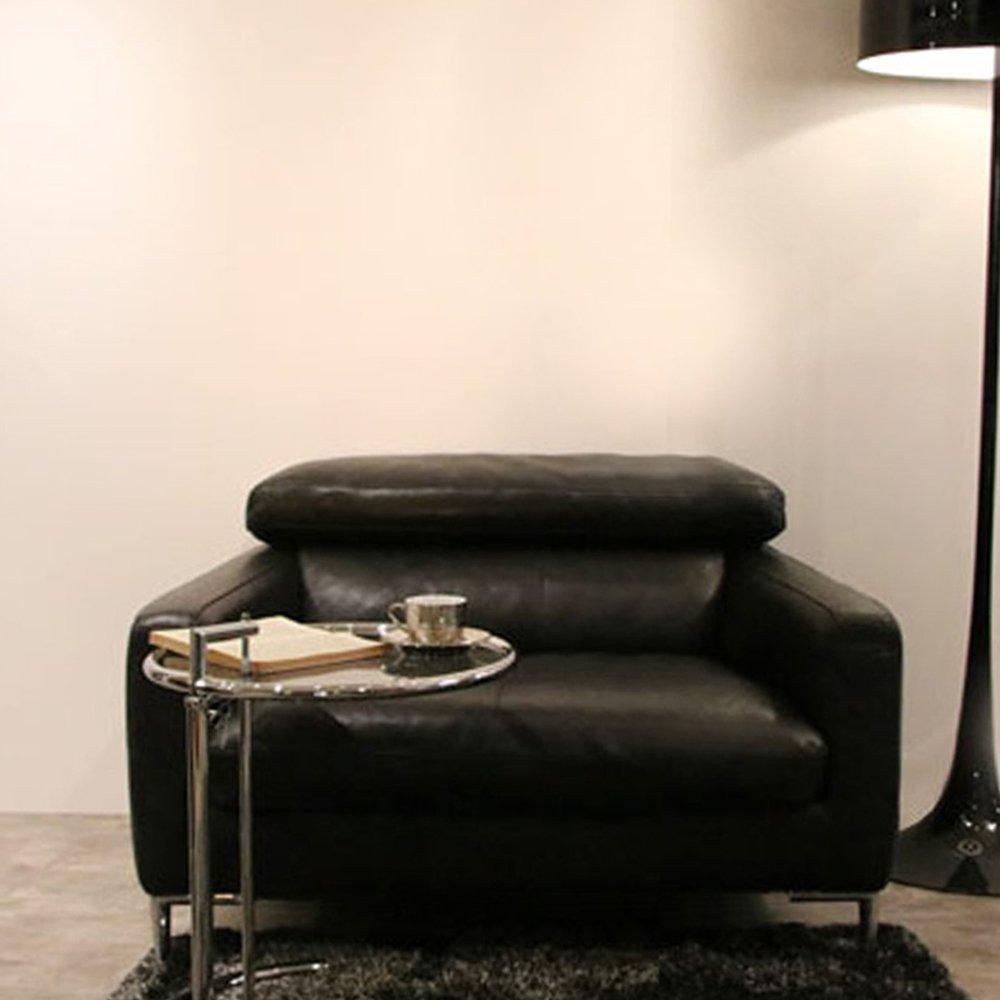 Furny Alizara One Seater Leatherette Sofa