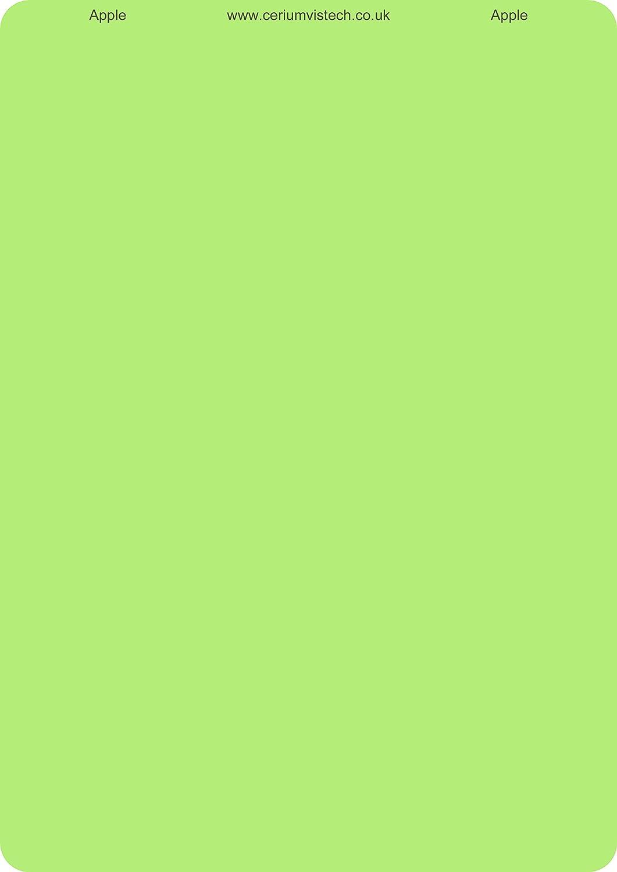 Cerverbindungen A4 Overlay Apple Green