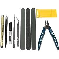 GOCHANGE Gundam Modeler Basic Tools Kit/Craft Kit for Car Model Building, Repair and Fix