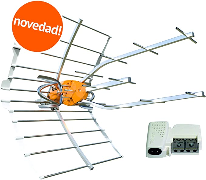 Kit 148902 Antena TV TELEVES Ellipse UHF 148910 + Fuente DE ...