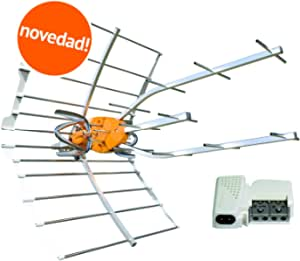 Kit 148902 Antena TV TELEVES Ellipse UHF 148910 + Fuente ...
