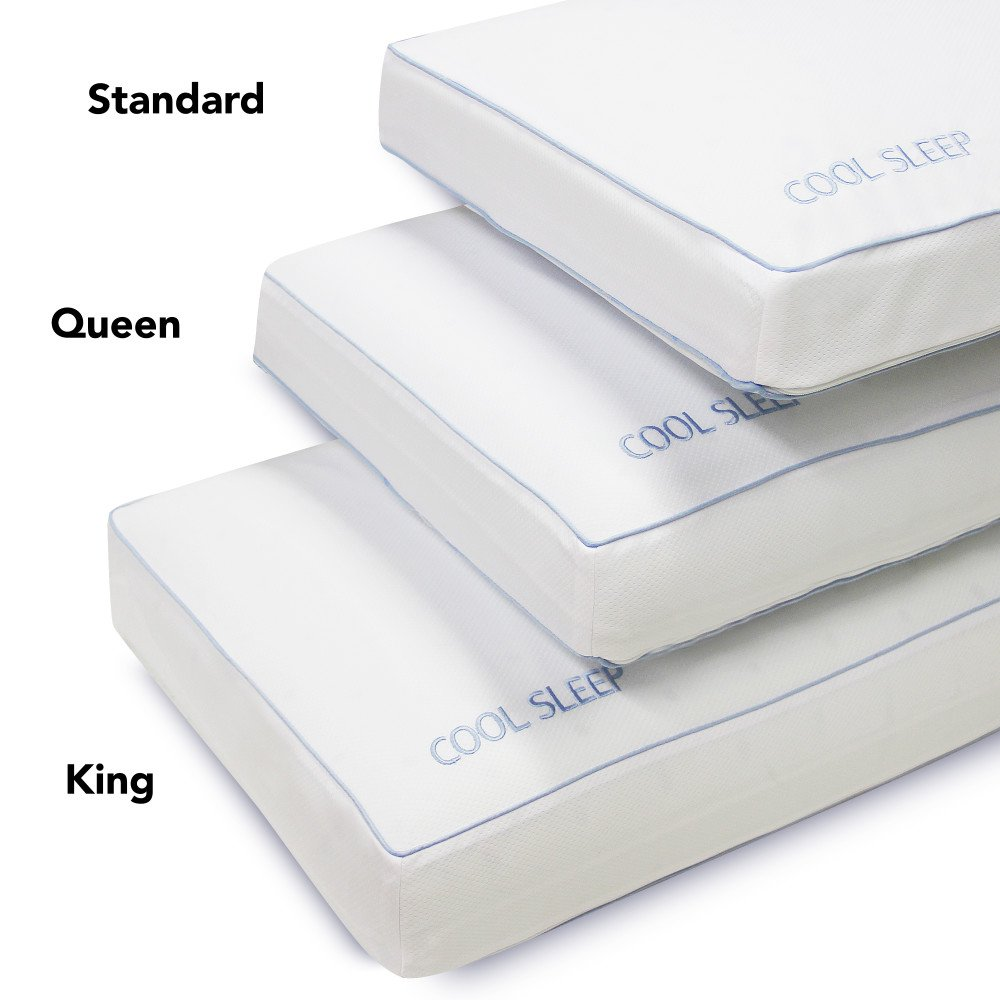 cooling delightful kingstar pad aquasealpro size odorless pillow soft of x chilly arts the king best gel com mat