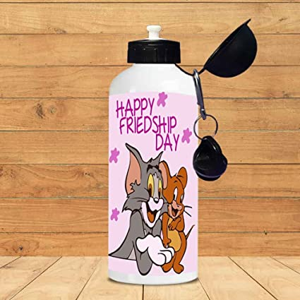 Chanakya Happy Friendship Day Tom And Jerry Sipper Bottle