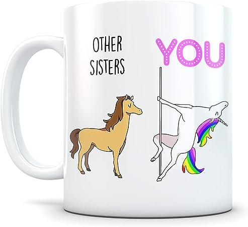 Coffee Mug White for Sister