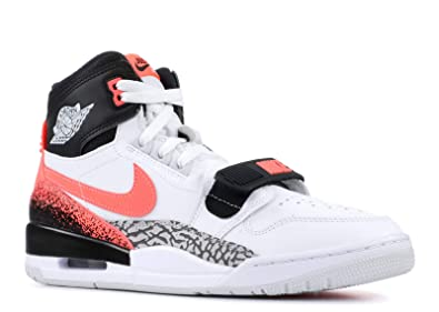 aeff6ab151ae Image Unavailable. Image not available for. Color  NIKE Mens Air Jordan  Legacy 312 NRG Just Don White Hot Lava