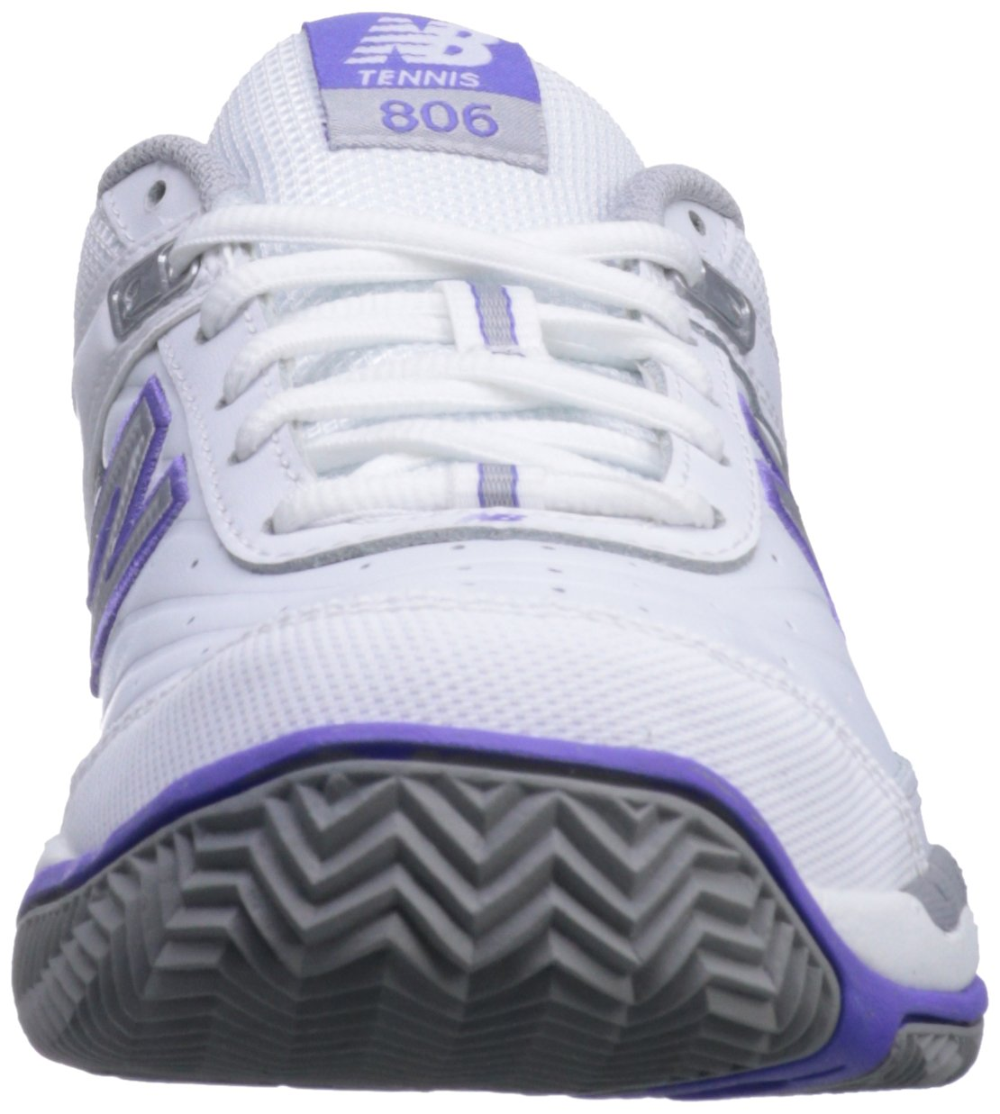 New Balance Women's 9 WC806 Tennis-W Tennis Shoe B0098G2LTU 9 Women's D US|White 027bab