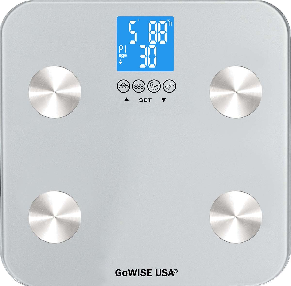 Gowise usa body fat scale with fda approved measures for Gowise usa