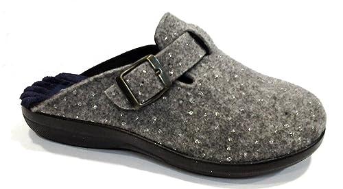 scarpe da ginnastica ampia selezione di design grande sconto per EASY WALK pantofole ciabatte invernali da donna art. 185025 ...