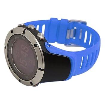 SUUNTO Accessoire, Fulltime® Montre de luxe en caoutchouc Replacement Band Strap Pour SUUNTO AMBIT
