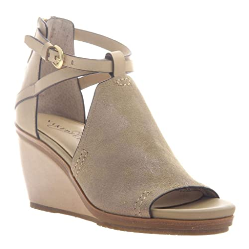 b93cc9019 naked Feet Women's Crux Wedge Sandals - New Taupe - 11: Amazon.ca ...