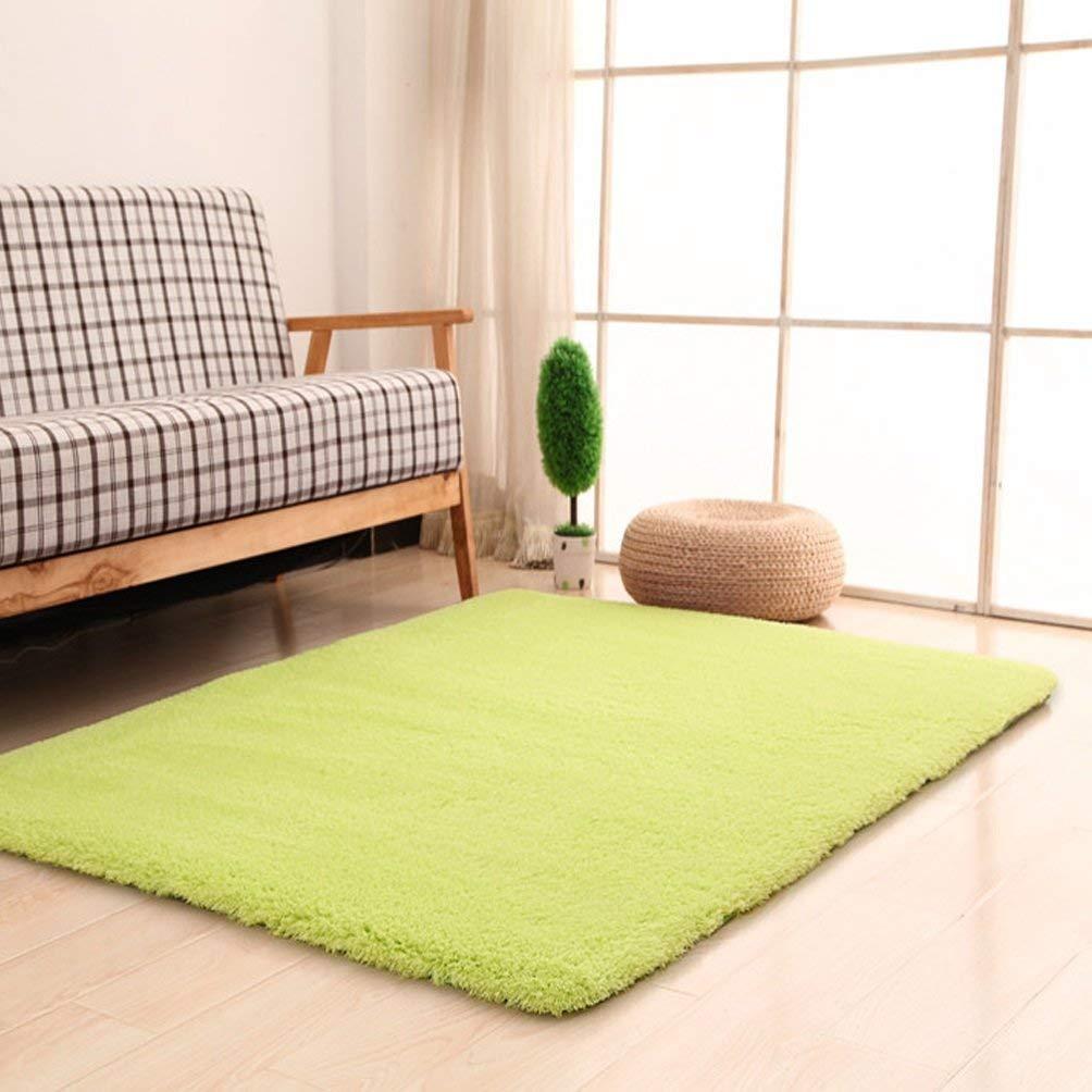 BAIBAI Teppich-Wohnzimmer-rechteckiger Teppich-modernes einfaches Schlafzimmer-Teppich-Ausgangswirtschafts-Teppich-Normallack-Teppich-Wolldecke