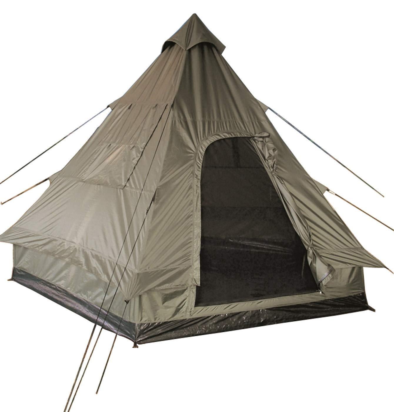 Orange One Size Milestone 2 Man Unisex Teepee Tent