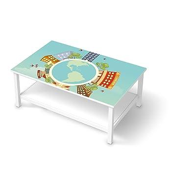 Creatisto Möbel Folie Sticker Für Ikea Hemnes Couchtisch 118x75 Cm
