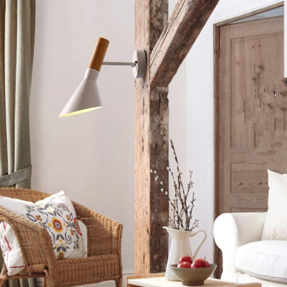 XuBa LED Loft Iron Art AJ Applique Murale Veilleuse pour Chambre à Coucher Couloir Balcon Bar Décoration