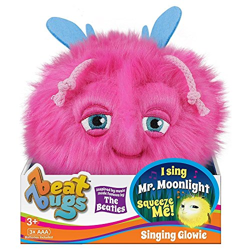 Beat Bugs Exclusive Mr. Moonlight Singing Pink Plush Glowie 6